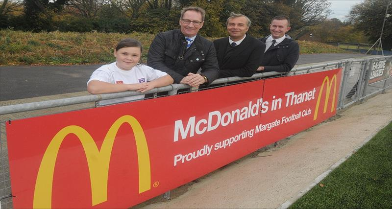 McDonalds support Margate FC
