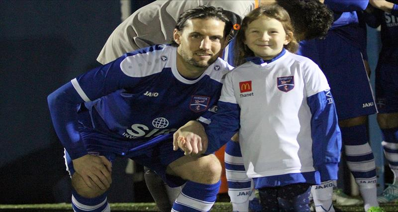 Young Gate Fan Enjoys Extra Special Match Day