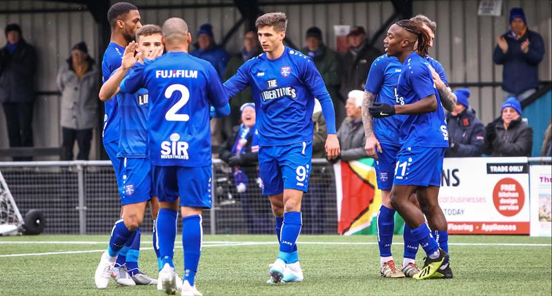 Margate Triumph Against League Leaders