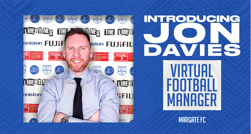 Margate Appoint First Virtual Manager